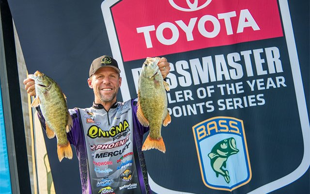 Martens Wakes Up Late, Still Wins Toyota Bassmaster Angler of The Year Title Early
