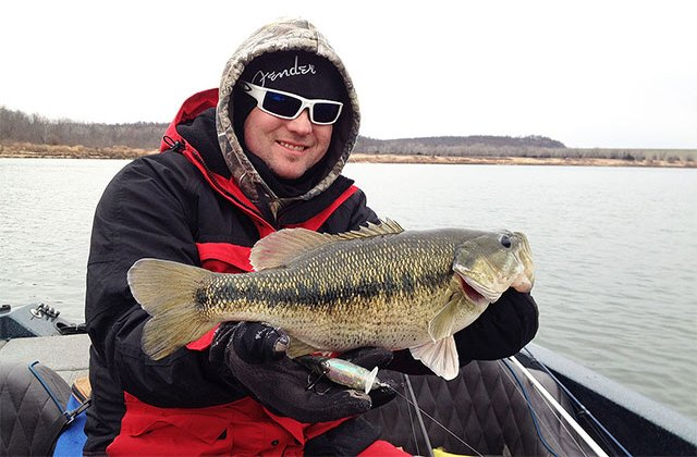 Wintertime Brings Trophy Bass Action and a Need for Additional Safety