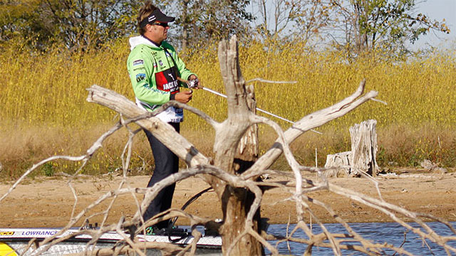 Target Backs of Creeks During Oktoberfest for Fall Bass Fishing Success