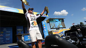 Confidence means a lot to a tournament bass fisherman, and Oklahoma pro Edwin Evers said his was sagging a bit after a couple of tough events earlier this year.