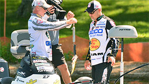 If you've ever watched the introduction to an episode of Major League Fishing, you've heard the anglers comment on one of the basic rules of the format that's different from other ' more conventional ' tournaments.