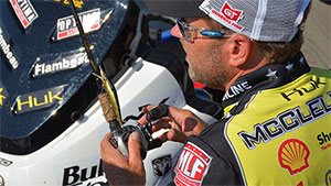 The MLF pro is quick to point out jerkbaits aren't just for early spring fishing; they work just as well during the fall with some changes to presentation.