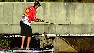 Fall is a busy time of year for the king of bass fishing, Kevin VanDam.