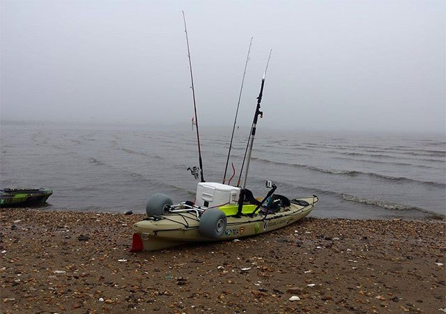 Fog, Wind and No Fish