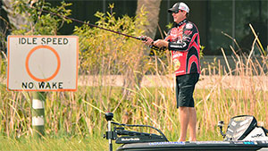 His motivation isn't driven by breaking records or putting money in the bank; it's all about the competition with other anglers and outwitting the fish.