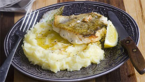 I prepare fresh halibut fish so it remains moist and flavorful. I also offer a great topping that will perk up those taste buds.