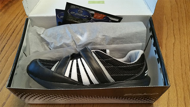 zeko shoes in box