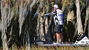 Technically, there is no practice for an MLF event; competition begins from a cold start without any warm up on the water. When Sudden Death begins, those who have advanced have a day of fishing under their belts, which essentially serves as a practice day. Advancing anglers are always looking to take their successful tactics to the Sudden Death Round.