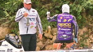 The anglers seem to sense competition is about to become more intense, and when you couple the fact they don't know exactly what body of water they are going to fish, the anxiety climbs.