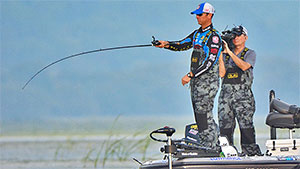 In the MLF format of zero information, practice and map study before the competition day begins, it's hard to pick a favorite. But going into Elimination Round 3 of the 2016 Summit Cup, the standout before the first cast was made had to be Todd Faircloth.