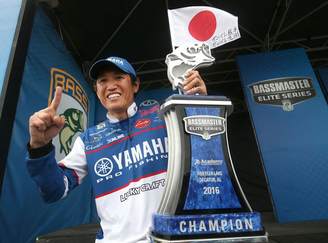 Omori Comes From Behind To Win Bassmaster Elite On Wheeler Lake