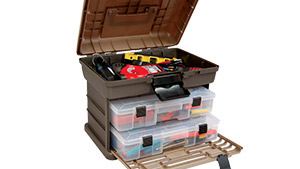 This storage system makes it easy to keep your tools organized and within quick reach.