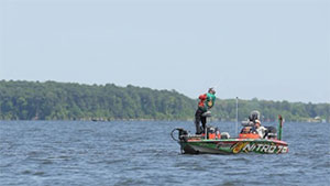 A rise in the water level on Toledo Bend Reservoir will force the Bassmaster Elite anglers to re-access their game plan.