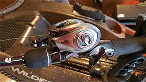 A detailed pros-and-cons review of the Abu Garcia Revo ALX baitcasting reel.
