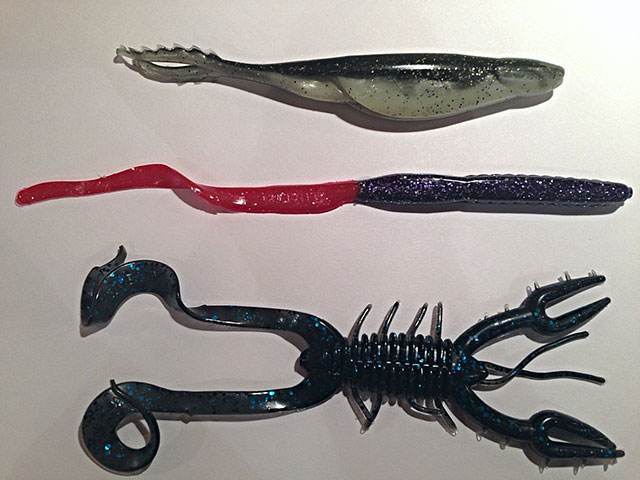 4 of the Best Bass Plastics to Use with a Carolina Rig