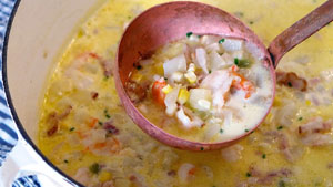 When it comes to chowder, there is much more than just the typical New England clam chowder.