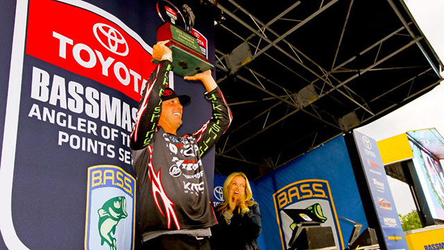 Swindle Wins Second Bassmaster Angler-of-the-Year Title