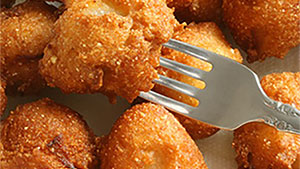 Looking for a great side to serve with your fish? These hush puppies are a perfect pairing.