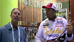 From the 2016 ICAST Show, Chad LaChance and bass pro James Niggemeyer introduce the St. Croix Legend Glass Rod.