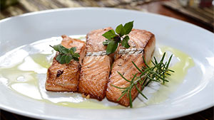 This simple, five-ingredient recipe is quick, simple and a delicious way to cook salmon.