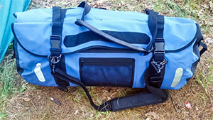 Liberty Ship Dry Bag lives up to the promise of quality and being totally waterproof