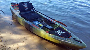 Easy to handle, the updated Perception Pescador Pro 120 makes for an impressive angler kayak.