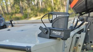 Hesitant about putting a full-size Power-Pole on your small boat due to space and weight concerns? Consider the Micro Anchor as not only a feasible alternative, but a solution