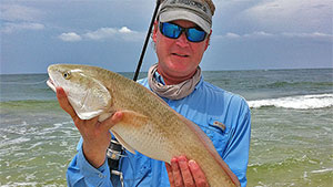 A boat is not required to have fishing success in shallow saltwater; heed these on-foot tips to catch your share of fish in the brine.