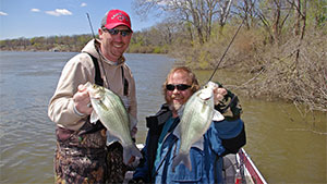 Spring is packed with a variety of a livewell-filling opportunities during fish spawns, but few rival the high-impact action of sand bass