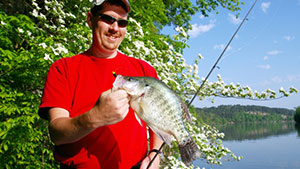 Crappie is found all over the United States, but these 10 states produce some real slabs.