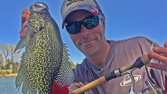 Drop-Shot Fishing Tips for Wintertime Crappie