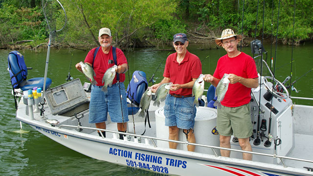 Fishing Slow Catches Crappie, Most of the Time