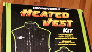 Focus more on the fish and less on the biting cold with this heated vest from Flambeau