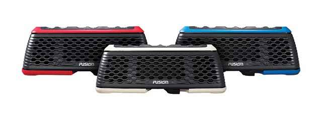 fusion stereoactive portable marine stereo all colors
