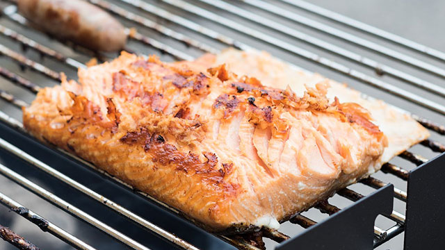 Grilled Salmon with Habanero Lime Butter Recipe