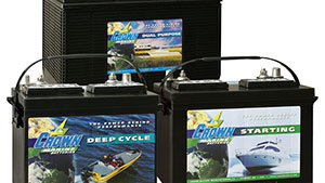 There are many types of marine batteries available, each for a different purpose with various advantages and disadvantages; here's what you need to know to make a good decision.