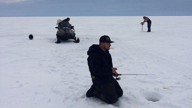 An Ice Fishing Tale: Trials and Tribulations