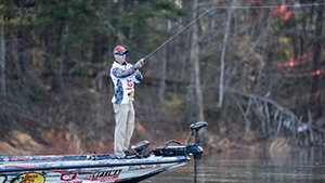 The top bass anglers are competing at Grand Lake O' the Cherokees on April 26-29 for the second stop of the Bassmaster Elite Series.