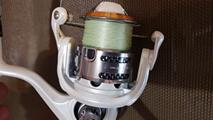 This rod and reel combo from Bass Pro Shops is a great lightweight setup offered at an amazing price.