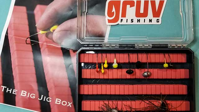 micro and big jig box from gruv fishing