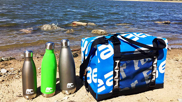 Polar Bear Coolers H20 Waterproof Cooler and Canteen Review