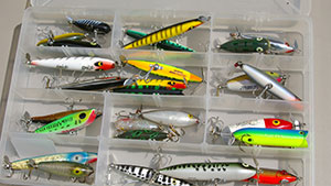 Prop baits come in a variety of styles and colors, many of which have popular bass lures for decades and with good reason: they catch fish.