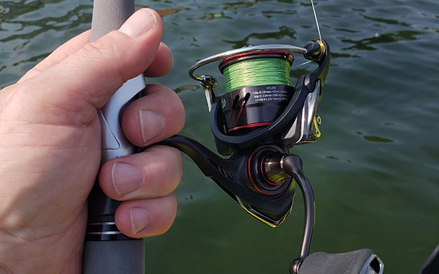 Gear Review: Daiwa Ballistic LT 2500D-XH Reel and Brent Ehrler Signature Finesse M/XF Rod