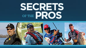 Learn from the best and hone your fishing skills, as some of the top pros tell you their secrets to fishing.