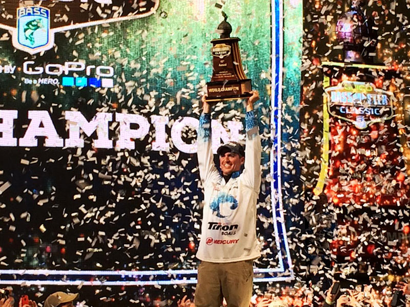 Hometown Hero Casey Ashley is Bassmaster Classic Champion