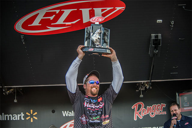 Kenney Goes Wire-to-Wire at FLW Tour Opener on Toho