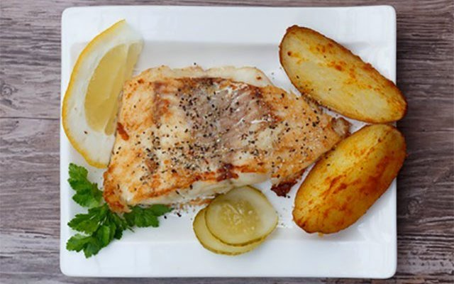 Pan Fried Grouper