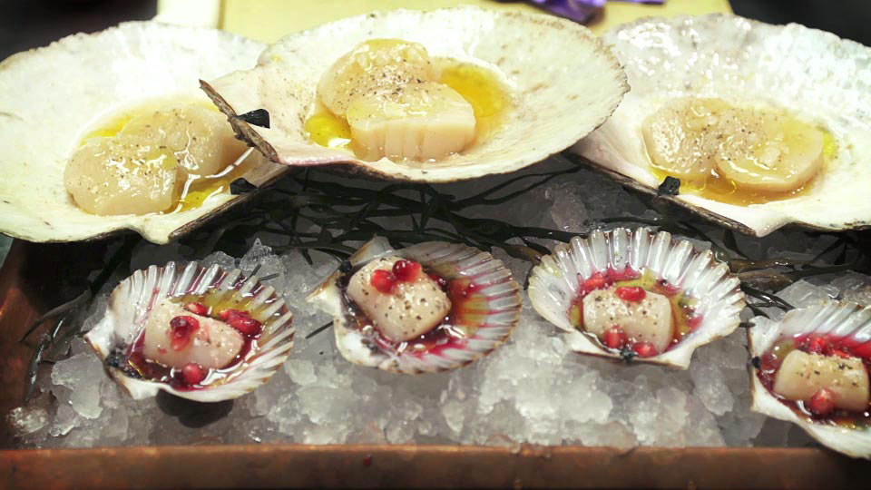 Two simple yet delicious methods for preparing scallops.