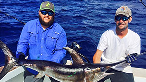 Participating anglers tag saltwater species of fish to help scientists learn more about marine life habits.